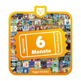 tigertones Tigerticket 6  Monate