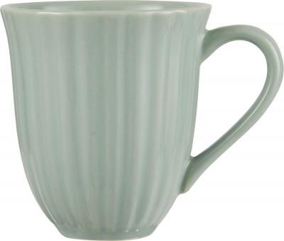 ibLaursen Mynte Tasse mit Rillen Green Tea