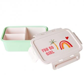 rice Lunchbox You Go Girl Print