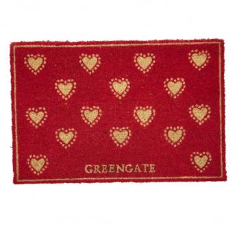 GreenGate Fußmatte Penny Red