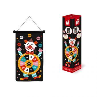 Janod magnetisches Dartspiel Zirkus