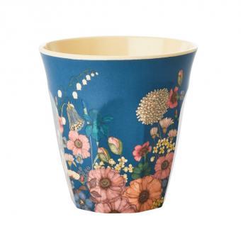 rice Becher / Cup Flower Collage medium