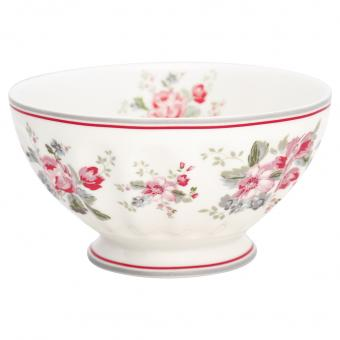 GreenGate French Bowl XL Elouise weiß