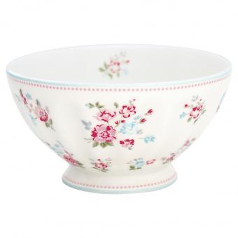 GreenGate French Bowl XL Sonia white