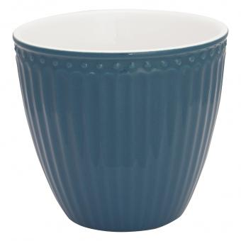 GreenGate Alice Latte Cup Becher Ocean Blue