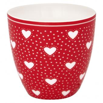 GreenGate Latte Cup mini Penny Red