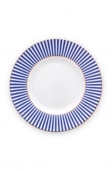 Pip Studio Teller 12 cm Royal Stripes Blue