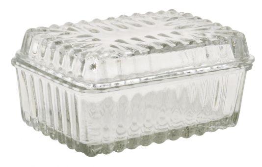 ibLaursen Butterdose Glas klein