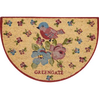 GreenGate Fußmatte Ellie halbrund
