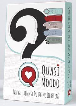 """Quasimoodo Kartenspiel """"Wie gut kennst Du Deine Liebsten"""""""