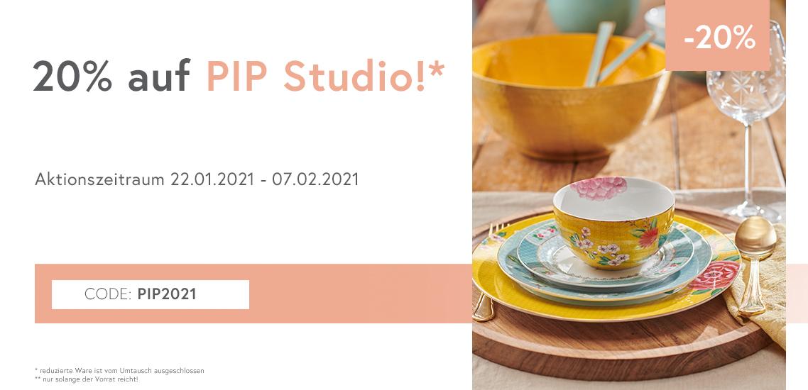 20% PIP Studio Sale